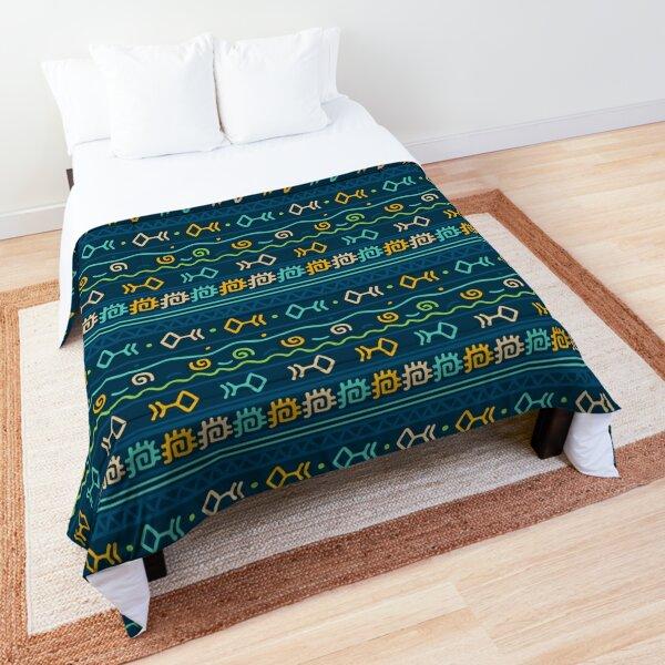 Tribal Art Pattern 08 Comforter