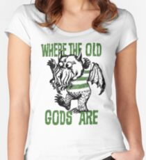Old Gods Women's Fitted Scoop T-Shirt
