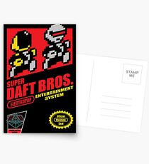 Super Daft Bros. Postcards