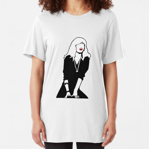 Grease 2 Cool Rider Michelle Pfeiffer Slim Fit T-Shirt