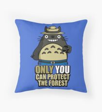 Protect The Forest Throw Pillow