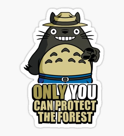 Protect The Forest Sticker