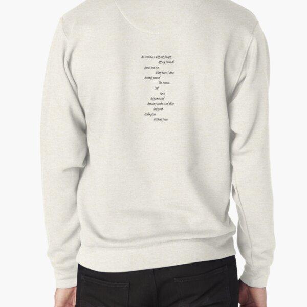 Dermot Kennedy - Without Fear Tracklist Pullover Sweatshirt