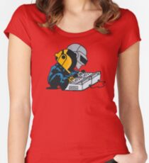 Daft Nuts Women's Fitted Scoop T-Shirt