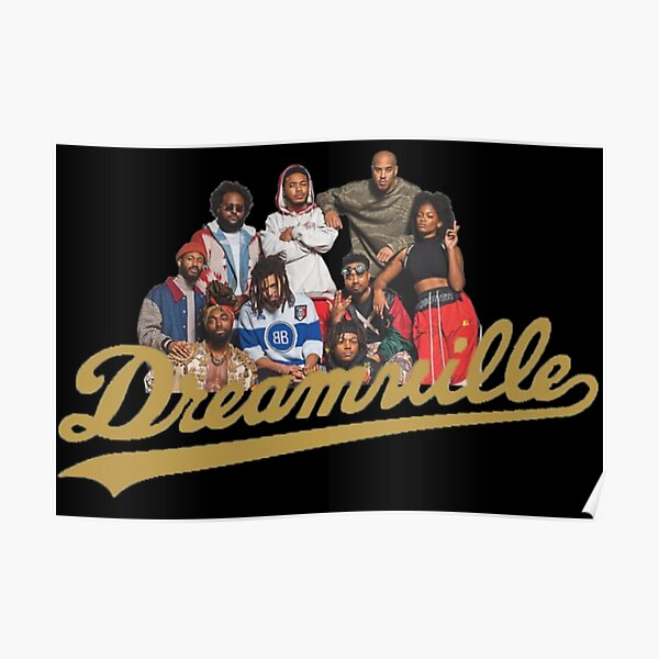J Cole Dreamville Family  Poster