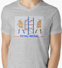 TOTAL REGAL Menu0027s V Neck T Shirt