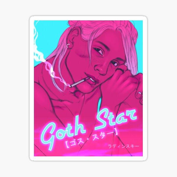 ☆ GOTH STAR ☆ Sticker