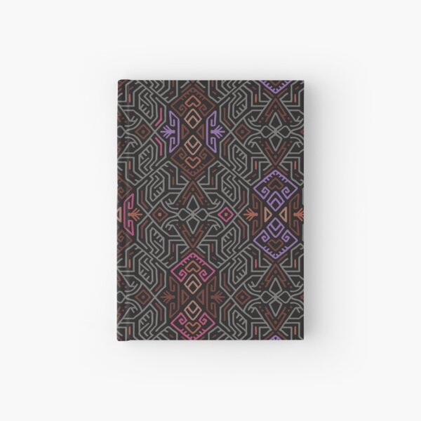 Autumn Tribal Pattern #1 Hardcover Journal