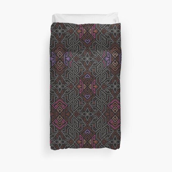 Autumn Tribal Pattern #1 Duvet Cover