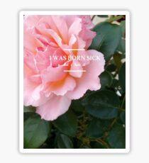 hozier - rose theme Sticker