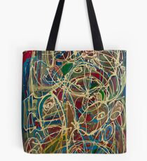 Abstract paiting: Abstract Expressionism Reflux Tote Bag