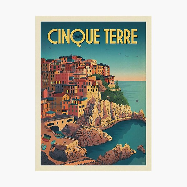 Cinque Terre Italy Framed Art Print Photographic Print