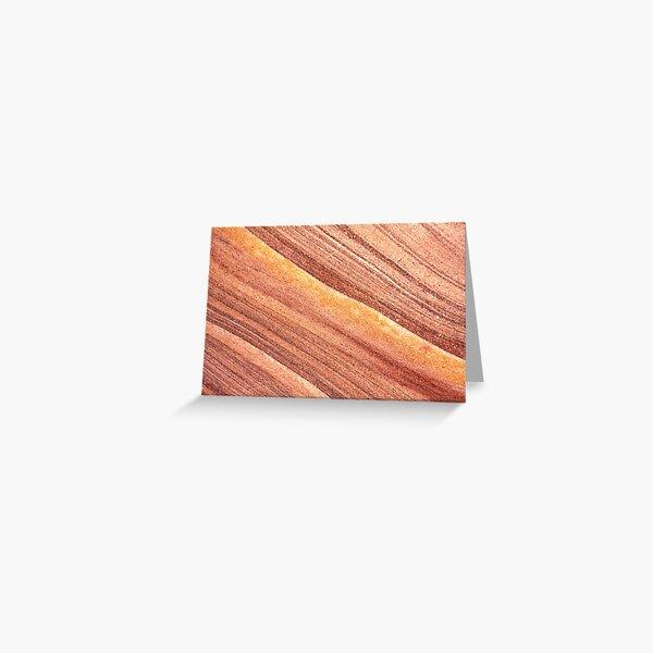 mars sand or velvet fluids Greeting Card