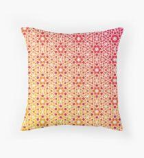 Gradient Tile Mosaic Pattern Throw Pillow
