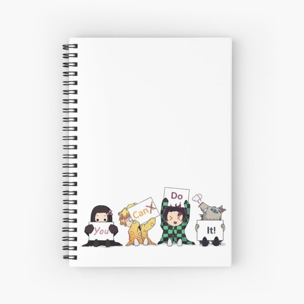 You Can Do It!  Spiral Notebook