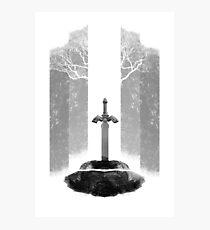 Master Sword Photographic Print
