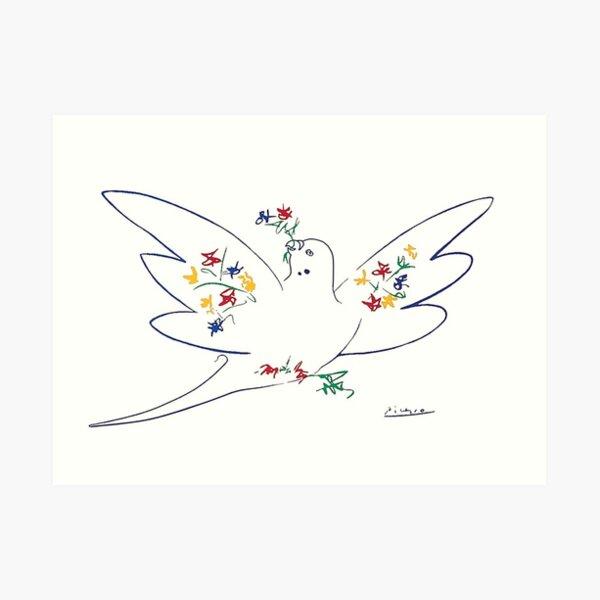 Dove of Peace Picasso  Art Print