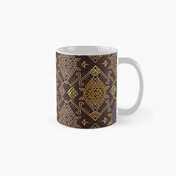 Autumn Tribal Pattern #4 Classic Mug