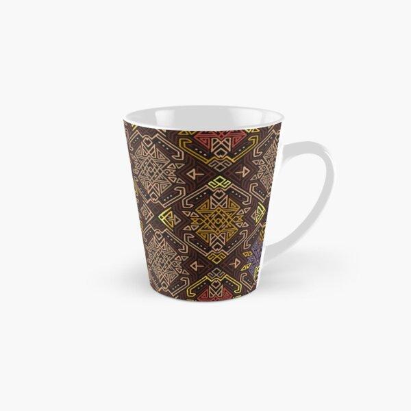 Autumn Tribal Pattern #4 Tall Mug