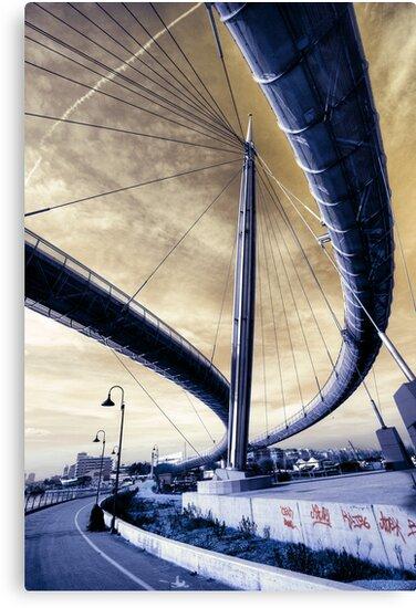 Sea Bridge II by Olivier  Jules
