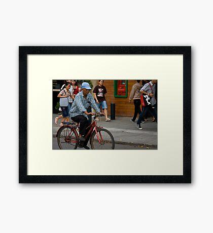 Am I Moving Framed Print