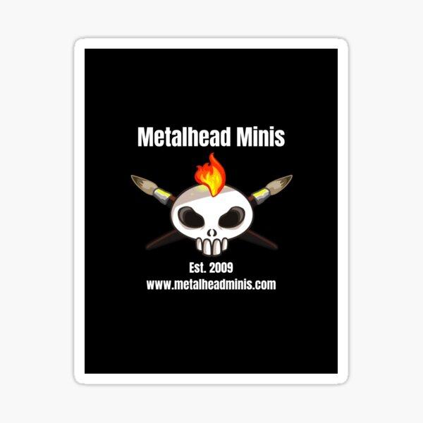 Metalhead Minis Logo Sticker