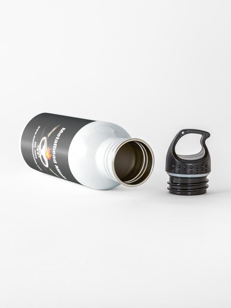 Alternate view of Metalhead Minis Logo Water Bottle
