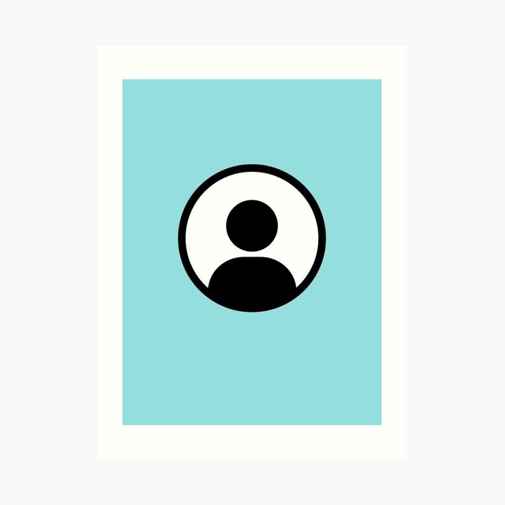 Anonymous / Member Icon Art Print