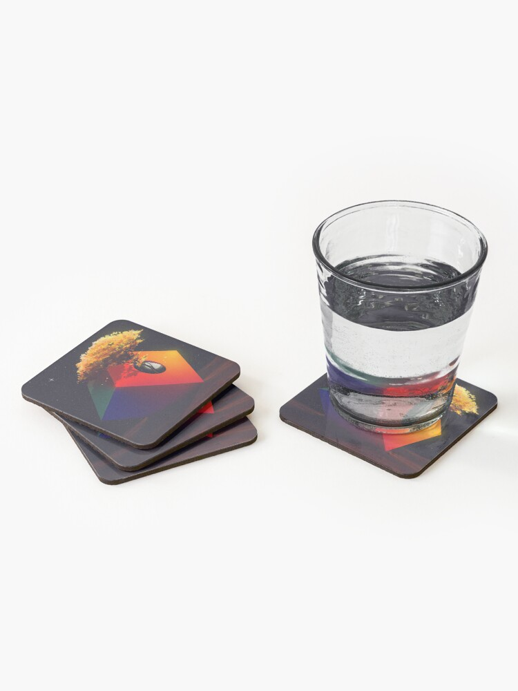 Alternate view of The Sanctuary Coasters (Set of 4)