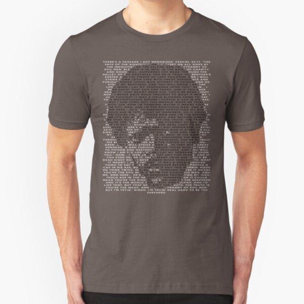 Ezekiel 25:17 Slim Fit T-Shirt