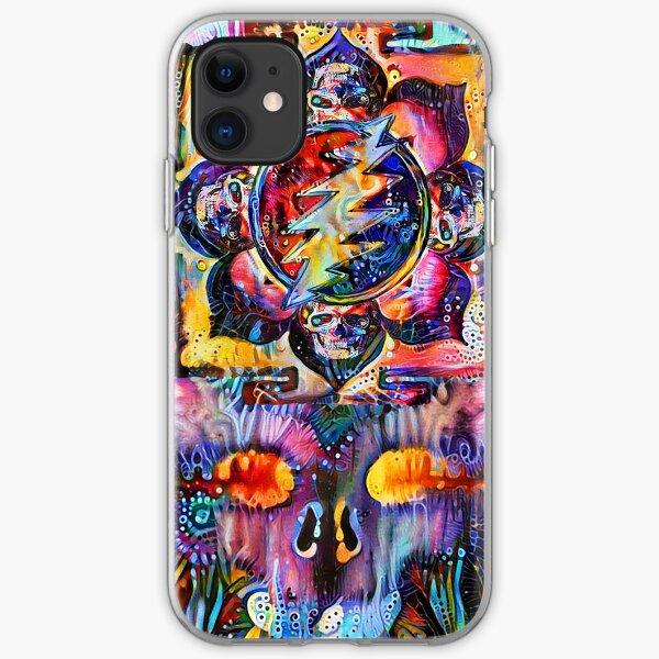 Sahasrara Yantra Bolt iPhone Soft Case