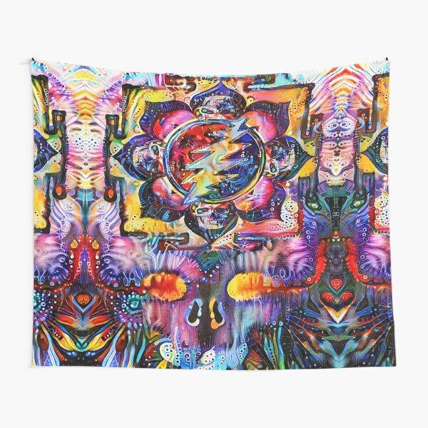 Sahasrara Yantra Bolt Tapestry