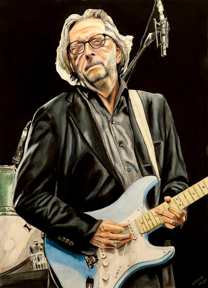 Eric Clapton by chris benice