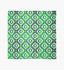 Emerald Green Ikat Pattern Scarf