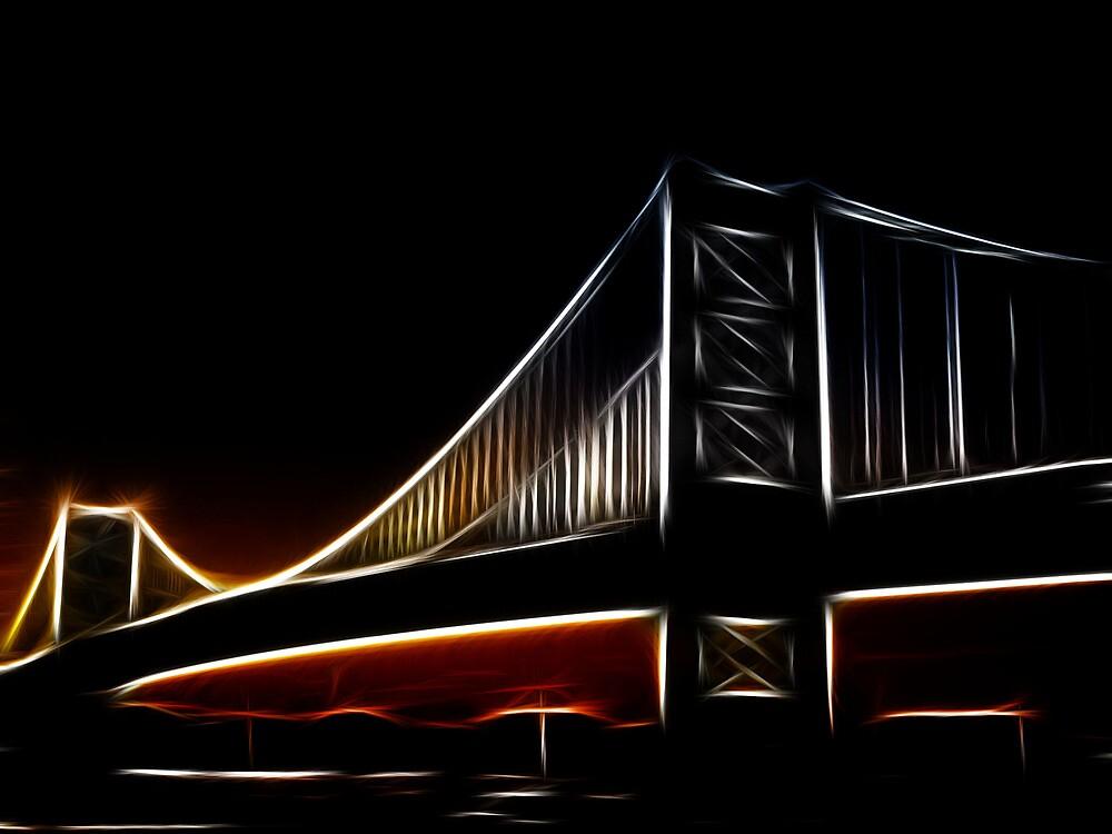 Glowing Bridge by SgtSciFI