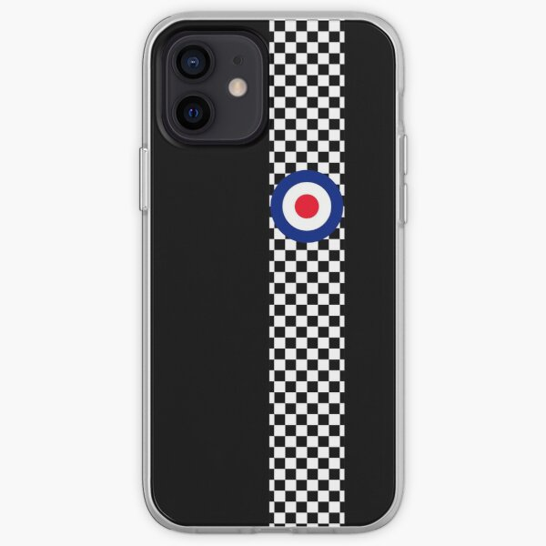Classic Target Roundel Racing Checkers iPhone Soft Case