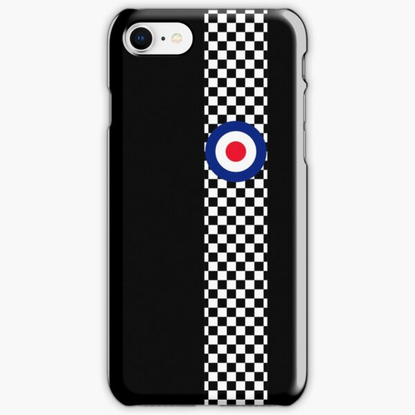 Classic Target Roundel Racing Checkers iPhone Snap Case