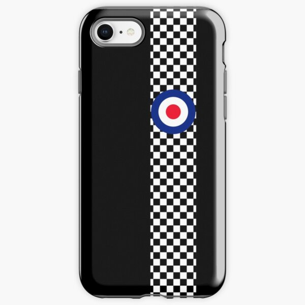 Classic Target Roundel Racing Checkers iPhone Tough Case