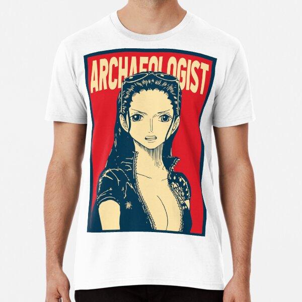 Robin el arqueólogo Camiseta premium