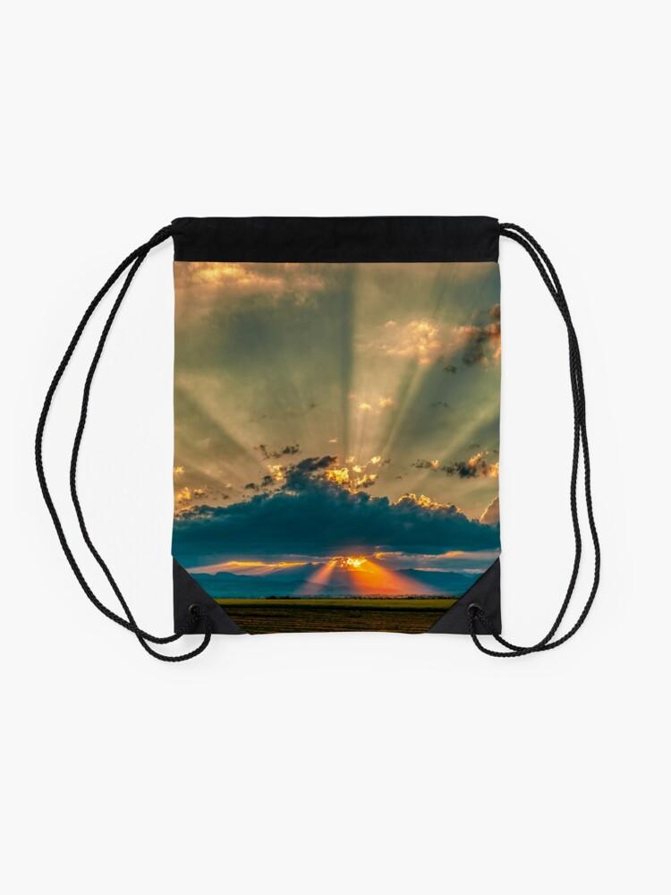 Alternate view of Mainlining Euphoria Drawstring Bag