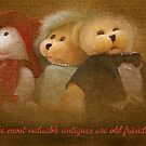 Teddys' Night Out (card) by MarjorieB