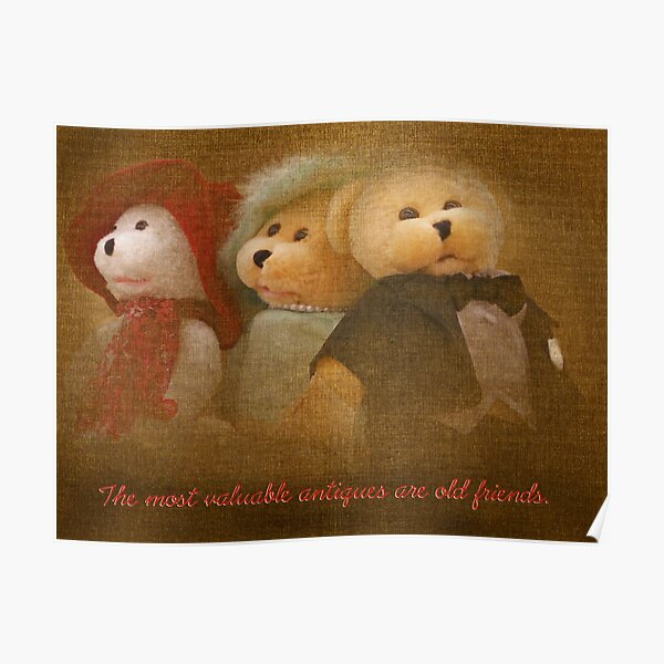 Teddys' Night Out (card) Poster