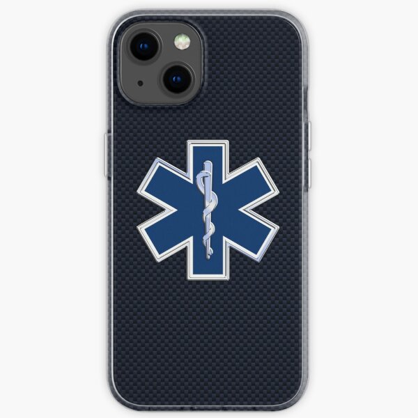 Paramedic Star of Life iPhone Soft Case