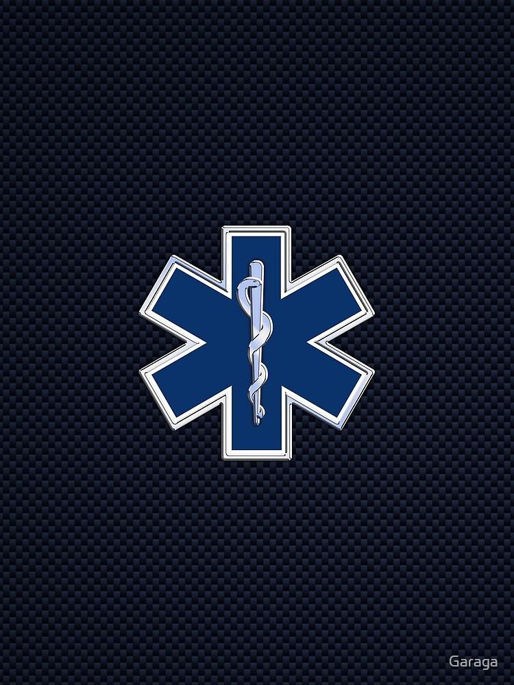 Paramedic Star of Life by Garaga