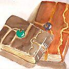 Hand Bound Journals by Sally Griffin