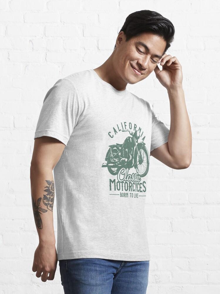 Alternative Ansicht von California Classic Motorcycles Essential T-Shirt