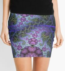 Mobius dragons and other patterns, fractal abstract artwork Mini Skirt