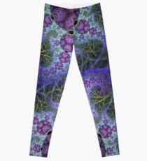 Mobius Drachen und andere Muster, abstrakte Fraktalgrafik Leggings