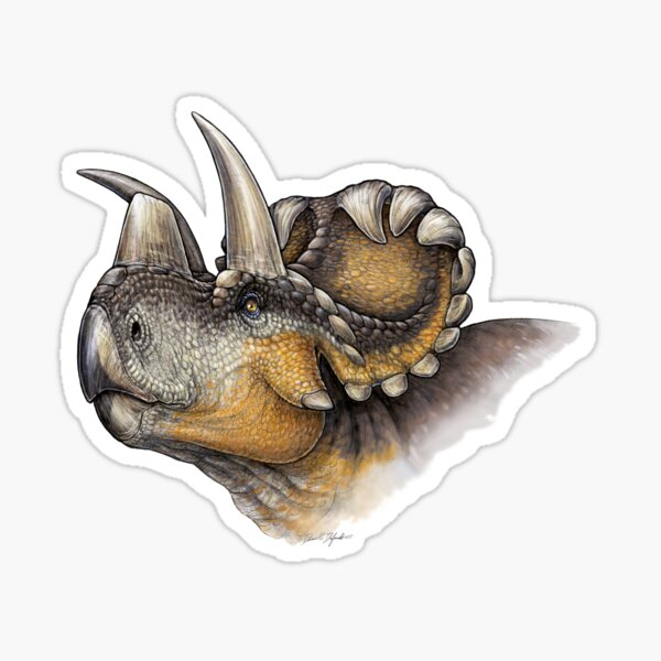 Wendiceratops Sticker