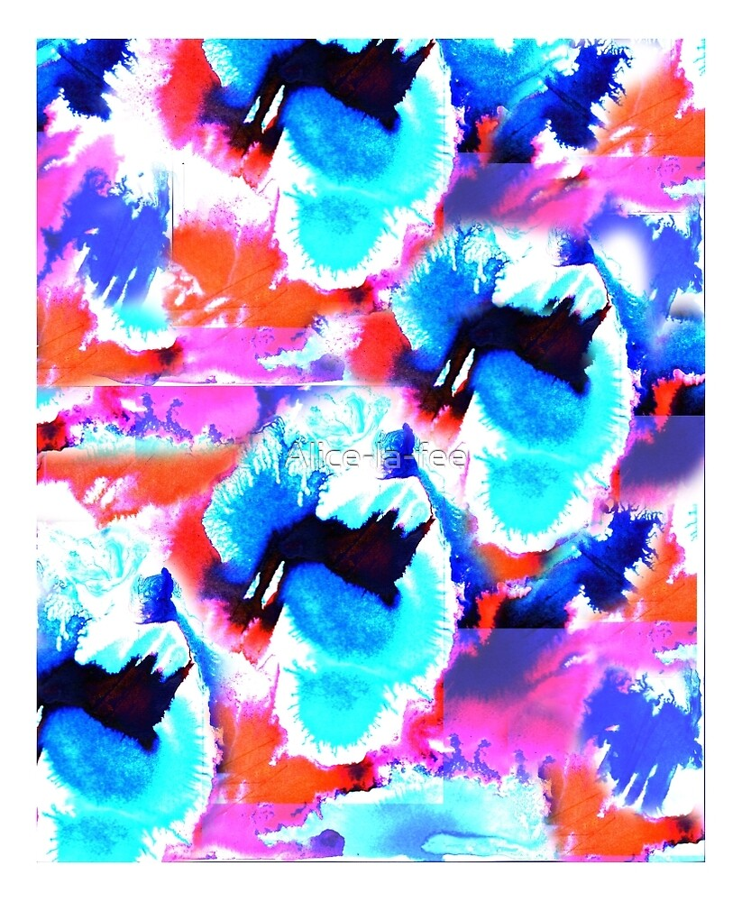 Les fleurs d'espace by Alice-la-fee